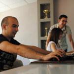 стажанти работят във Венера Козметикс